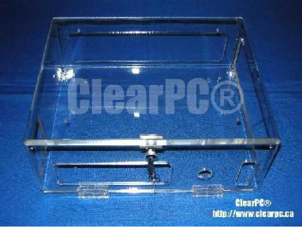ClearPC Old  Model XBOX Security Case