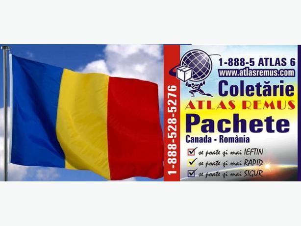 Coletarie CANADA ROMANIA ATLAS REMUS OTTAWA