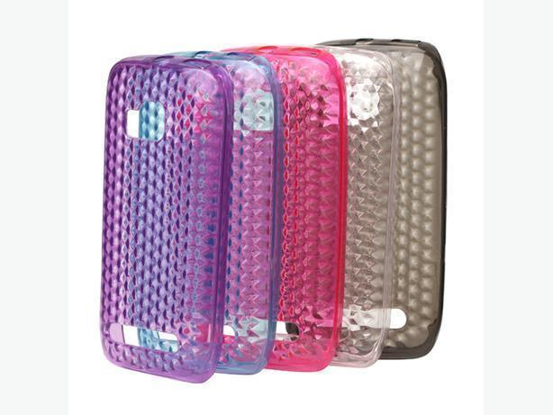 New Clear Diamond TPU Case for Nokia Lumia 710