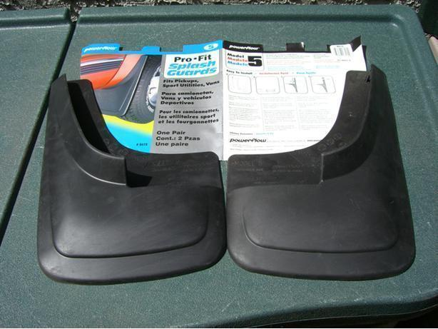 New Pair of  Splash Guards Pro-Fit Model 5
