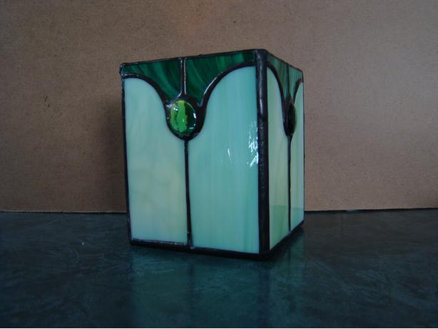 Stained Glass Candleholders