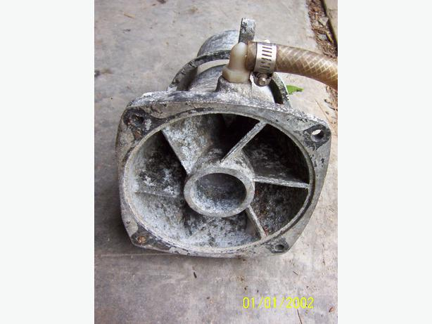 Tigershark impeller housing water pump housing