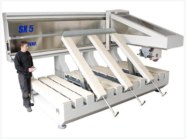 SX5 - 5-axis fully automated CNC bridge saw, Marble, Granite