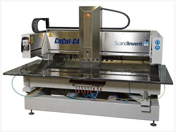 Scandinvent C4-CNC for Kitchens & Monuments. photo & text engraving options