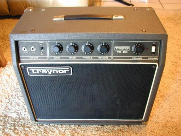 The vintage traynor amplifiers not
