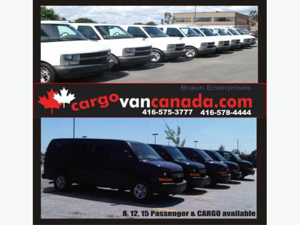 * VANS * BUS * over 65+ ASTRO SAFARI EXPRESS SAVANA & CARGO PASSENGER HERE !!