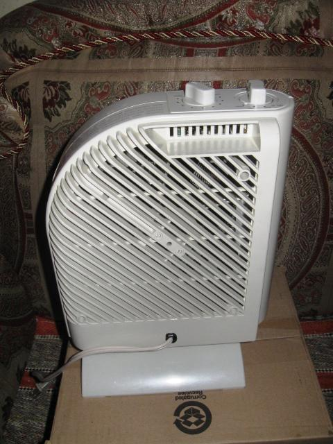 Duracraft Cz 2100 Portable Electric Heater Fan With