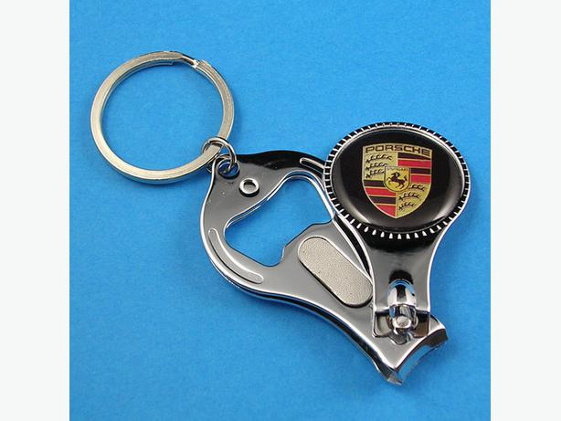 brand new porsche keyrings 1 with nail clipper file and bottle opener outside victoria victoria. Black Bedroom Furniture Sets. Home Design Ideas