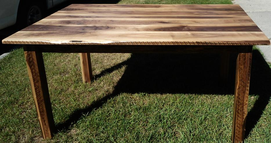 New Live Edge Black Walnut Rustic Dining Table South East  : 25831673934 from www.usedcalgary.com size 934 x 492 jpeg 103kB