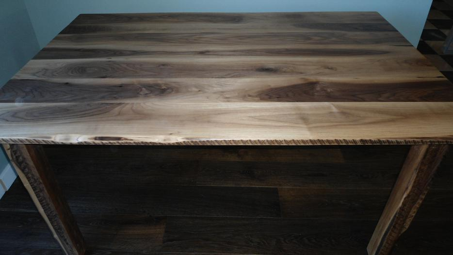 New Live Edge Black Walnut Rustic Dining Table South East  : 25831683934 from www.usedcalgary.com size 934 x 525 jpeg 46kB