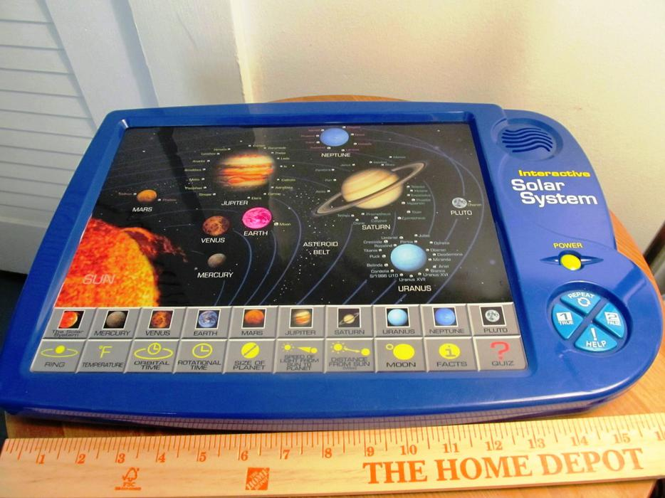 Scientific Toys Interactive Solar System Electronic