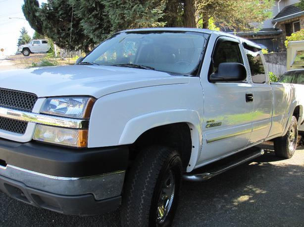 Chevrolet Silverado 2500hd Gatineau >> 2004 Chevrolet Silverado 2500HD 4x4 Surrey (incl. White Rock), Vancouver