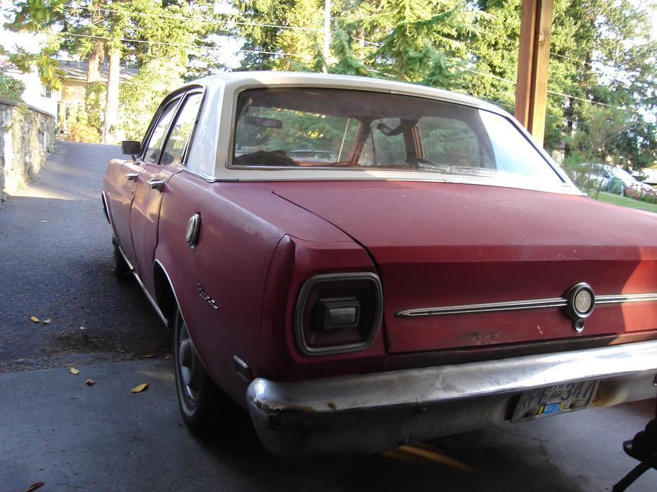 $100 · WANTED: 1969 or 1968 4-door Ford Falcon