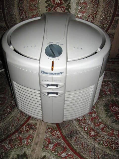 on Honeywell True Hepa Air Purifier