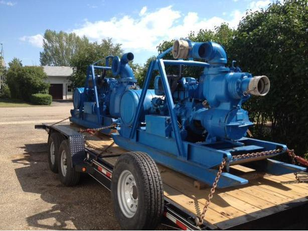 "10"" INDUSTRIAL DIESEL PUMPS FOR SALE"