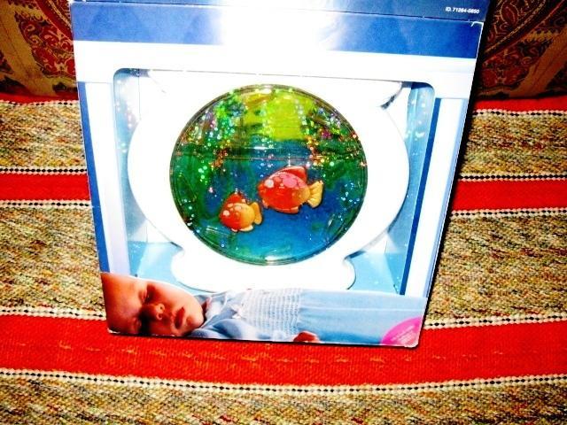 Brand New Fisher Price Lights u0026#39;n Sounds Aquarium Baby Crib Mobile Central Ottawa (inside ...