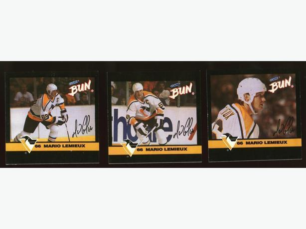 92/93 Clark Mario Lemieux Set Pittsburgh Penguins