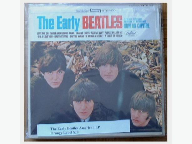 The Early Beatles American LP Capitol Records