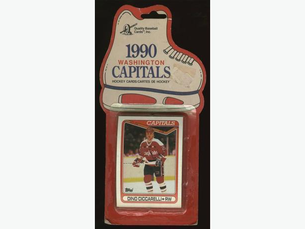 1990 Washington Capitals Cello Pack