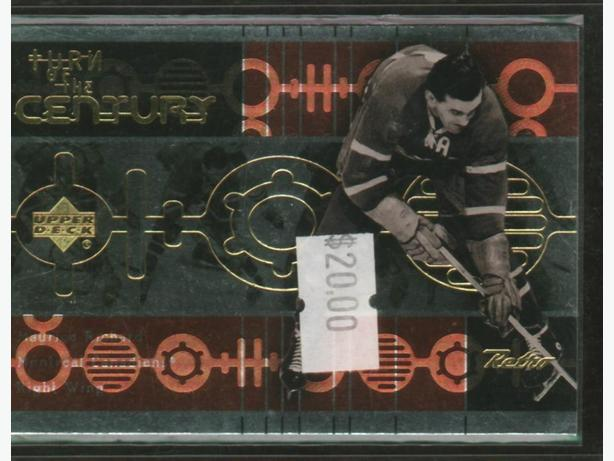 Upper Deck Retro Turn of the Century Rocket Richard Canadiens
