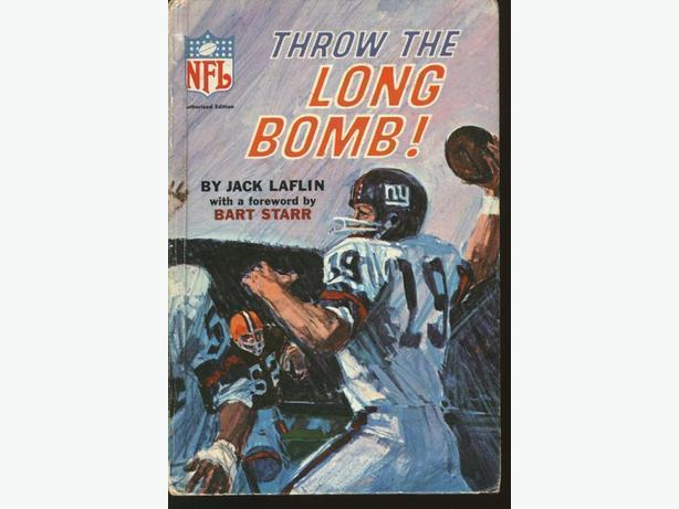NFL Book Throw The Long Bomb Bart Starr