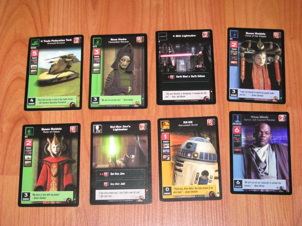 Young Jedi CCG cards