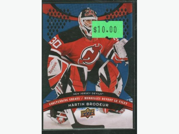2009/10 McDonald's Upper Deck Goaltending Greats Brodeur New Jersey Devils