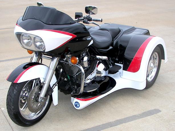 Harley Davidson Red Deer >> Harley Davidson Motor Trike Conversion Kit Tour Models ...