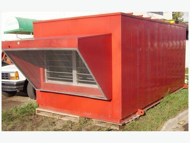 AIR HANDLING HVAC UNIT