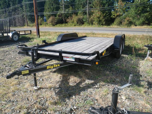 Big Tex 70CH-16 car hauler trailer st#BT844