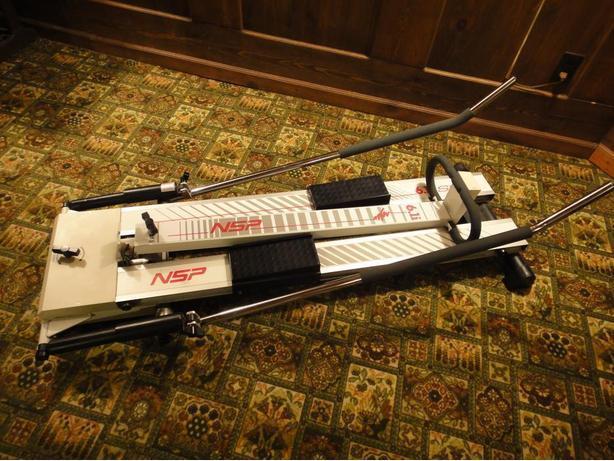 Ski machine, treadmill,and more