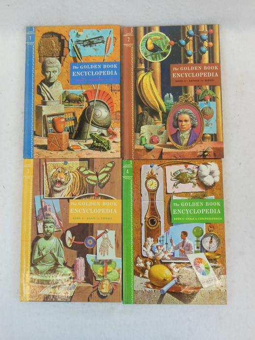 THE GOLDEN BOOK ENCYCLOPEDIA 16 Vols Golden By Bertha