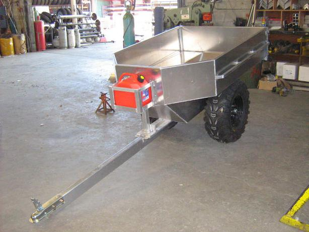 Modular Atv Trailers : Your off road atv trailer for behind the quad outside
