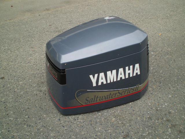 1997 2001 yamaha 225hp saltwater series 2 stroke hood for Yamaha saltwater series ii