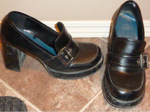 Black Shoes - Size 10