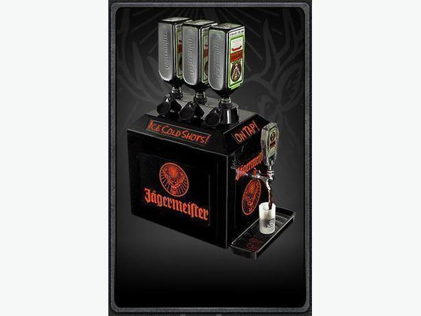 """NEW""( IN THE BOX) Jagermeister"" ICE COLD SHOTS"" Tap Machine"