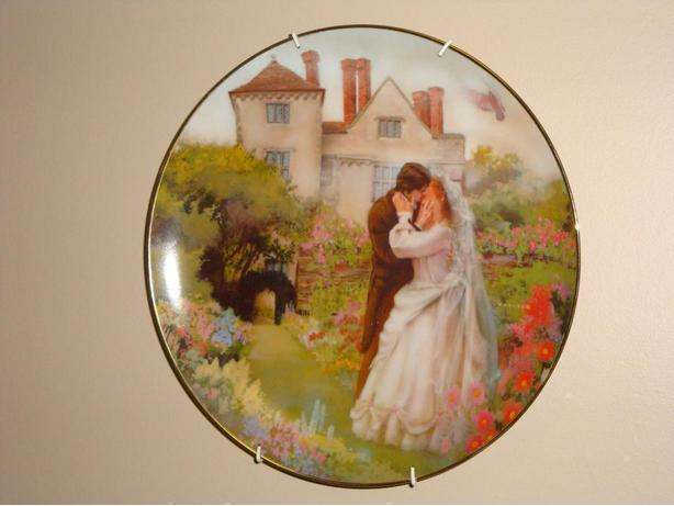 """The Wedding"" Collector Plate  by Rob Sauber"