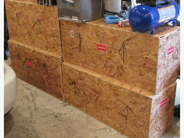 "1/4"" OSB Packing Crates"
