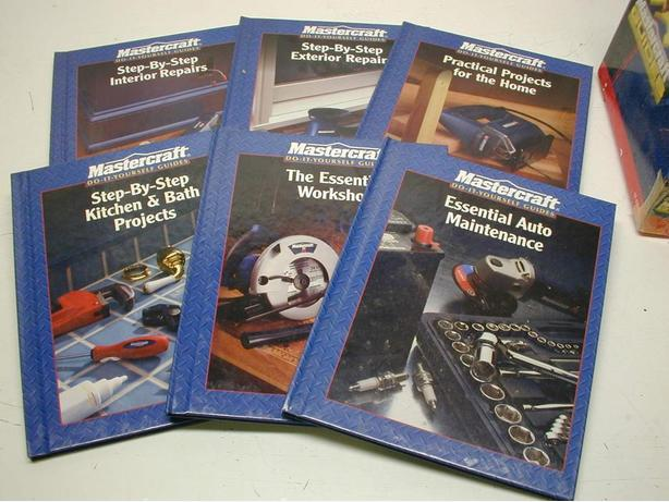 Set of Mastercraft Do-It-Yourself Guides - Updated