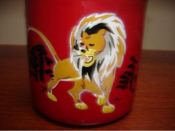 New Traditional Chinese Design Enamel Cup GreatForChineseNewYear