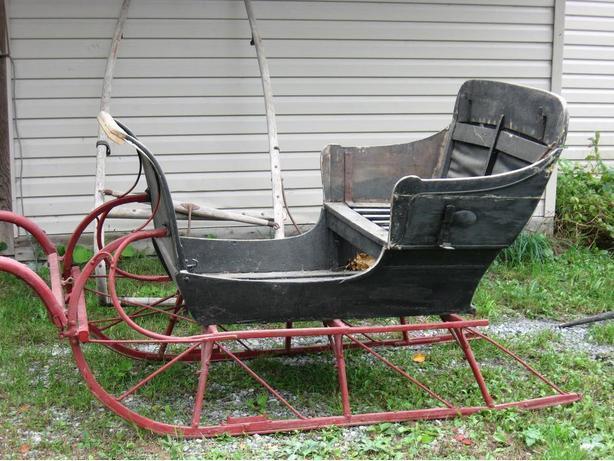Horse cutter sleigh