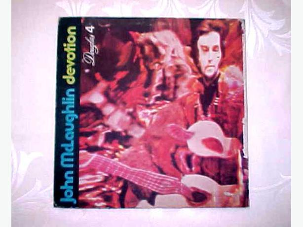 JOHN MCLAUGHLIN DEVOTION VINYL LP