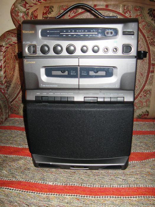 venturer karaoke machine