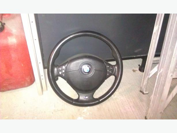 Bmw E39 540i Parts M Steering Wheel And Free Front