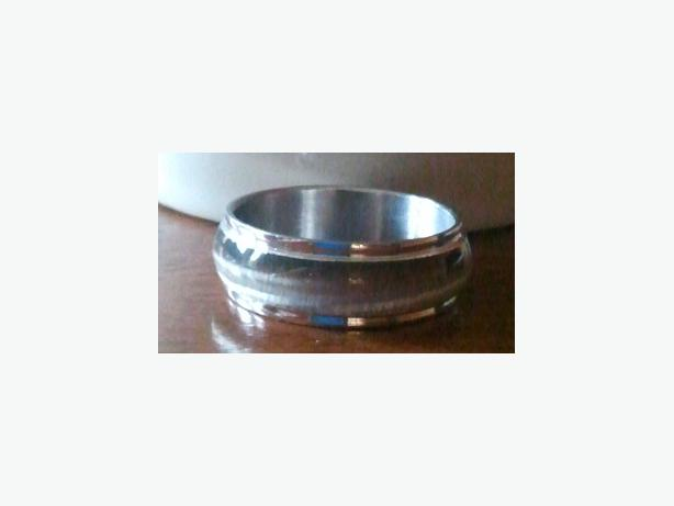 Stainless Steel Resin Cat-eye Rings