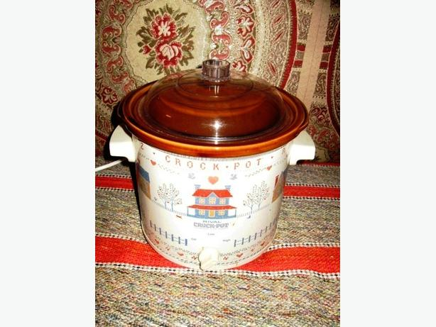 Vintage Heartland Rival Crock Pot Stoneware Slow Cooker 3