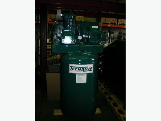 New RM Air Compressor 5 hp. Cast-iron two stage Industrial Air Compressor