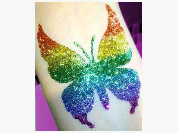 Glitter Girls Glitter Tattoos  (204) 663-1000