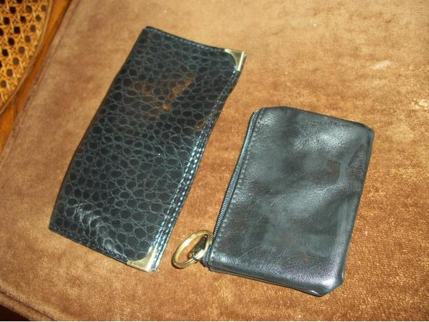 Coin Purse and Checkbook