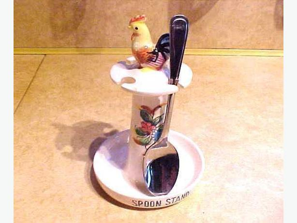 ROOSTER SPOON STAND